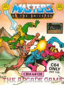 Caratula de He-Man and the Masters of the Universe para Commodore 64