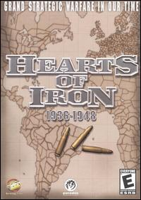 Caratula de Hearts of Iron para PC