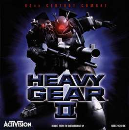 Caratula de Heavy Gear II para PC