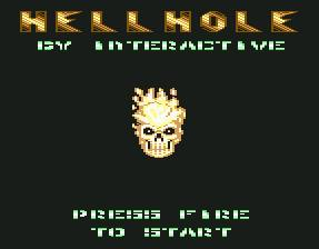 Pantallazo de Hell Hole para Commodore 64