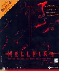 Caratula de Hellfire: Diablo Expansion Pack para PC