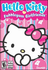Caratula de Hello Kitty: Bubblegum Girlfriends para PC