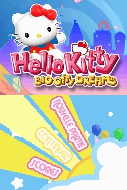 Pantallazo de Hello Kitty : Big City Dreams para Nintendo DS