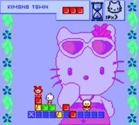 Pantallazo de Hello Kitty's Cube Frenzy para Game Boy Color