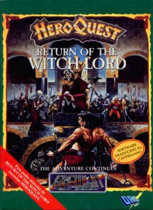 Caratula de Hero Quest: Return of the Witch Lord para Spectrum