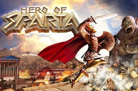 Caratula de Hero of Sparta para Iphone