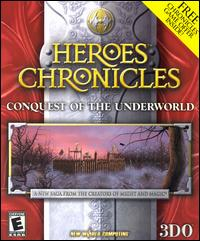 Caratula de Heroes Chronicles: Conquest of the Underworld para PC