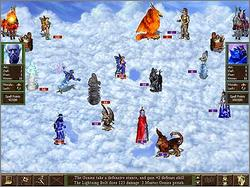 Pantallazo de Heroes Chronicles: Masters of the Elements para PC
