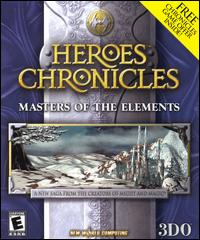 Caratula de Heroes Chronicles: Masters of the Elements para PC