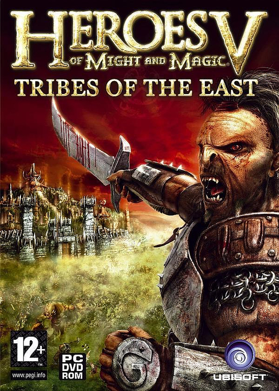 Caratula de Heroes of Might & Magic 5: Tribes of the East para PC