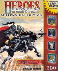 Caratula de Heroes of Might and Magic: Millennium Edition para PC
