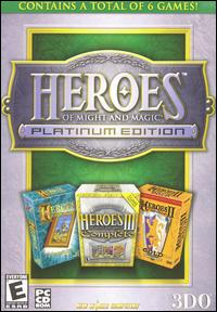 Caratula de Heroes of Might and Magic: Platinum Edition para PC