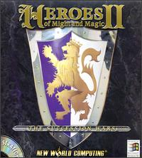 Caratula de Heroes of Might and Magic II: The Succession Wars para PC