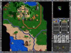 Pantallazo de Heroes of Might and Magic II: The Succession Wars para PC