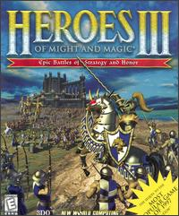 Caratula de Heroes of Might and Magic III: The Restoration of Erathia para PC