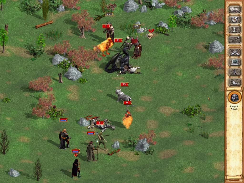 Pantallazo de Heroes of Might and Magic IV: Elite Edition para PC
