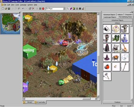 Pantallazo de Heroes of Might and Magic IV: The Gathering Storm para PC