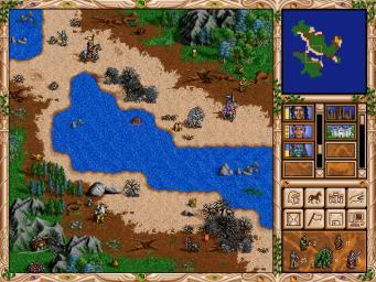 Pantallazo de Heroes of Might and Magic Trilogy para PC