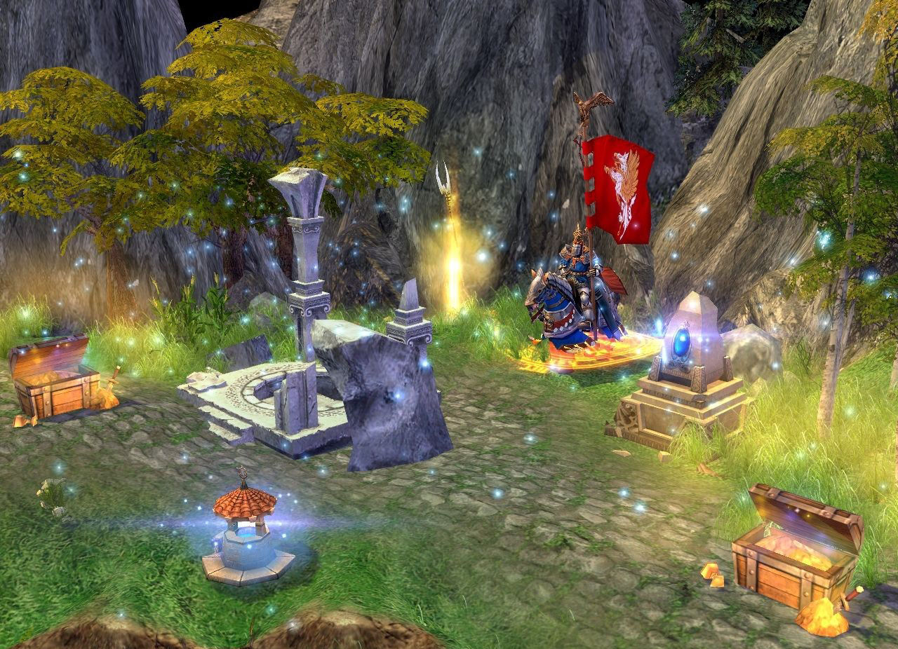 Pantallazo de Heroes of Might and Magic V para PC