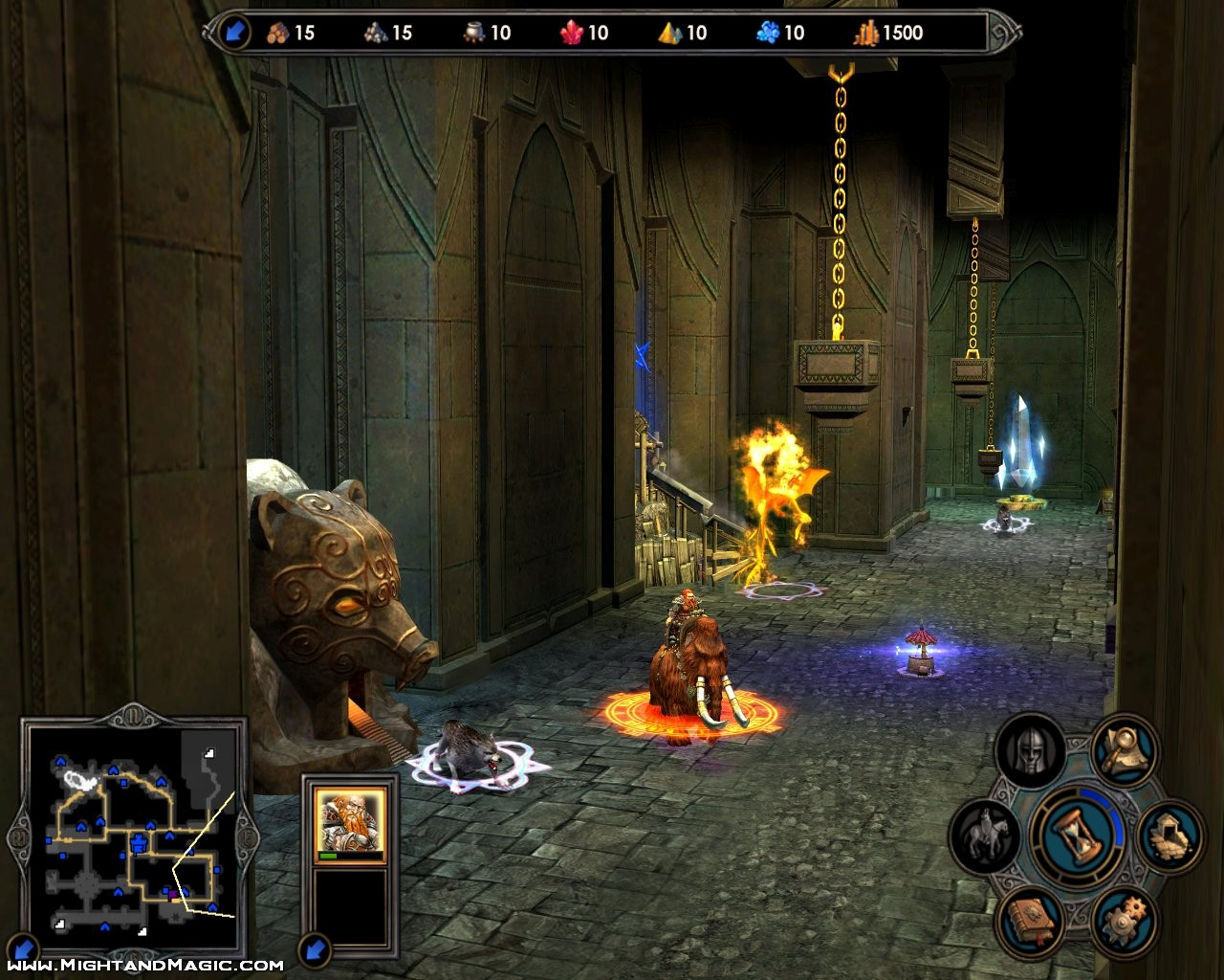Heroes of Might and Magic V: Hammers of Fate (Pantallazo de PC) a