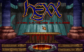 Pantallazo de Hexx: Heresy of the Wizard para PC