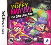 Caratula de Hi Hi Puffy Ami Yumi: The Genie and the Amp para Nintendo DS