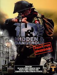 Caratula de Hidden And Dangerous : Fight For Freedom para PC