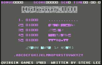 Pantallazo de Hideous Bill & the Gi-Gants para Commodore 64
