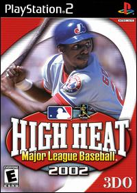 Caratula de High Heat Major League Baseball 2002 para PlayStation 2
