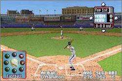 Pantallazo de High Heat Major League Baseball 2003 para Game Boy Advance