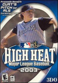 Caratula de High Heat Major League Baseball 2003 para PC