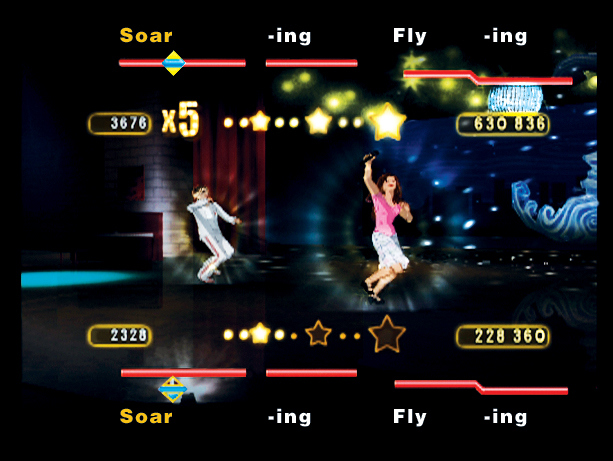 Pantallazo de High School Musical: Sing It! para PlayStation 2