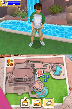 Pantallazo de High School Musical 2: Work This Out! para Nintendo DS