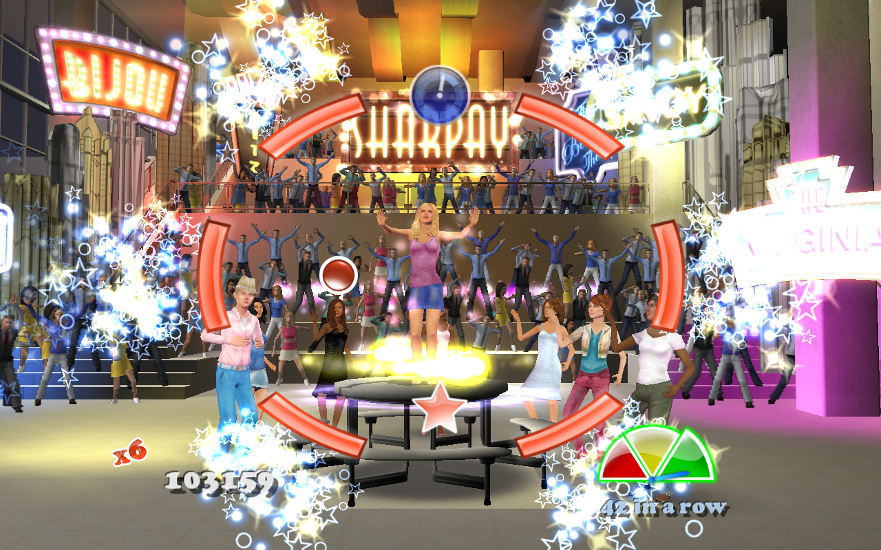Pantallazo de High School Musical 3: Senior Year Dance! para Xbox 360