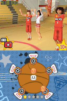 Pantallazo de High School Musical 3: Senior Year para Nintendo DS