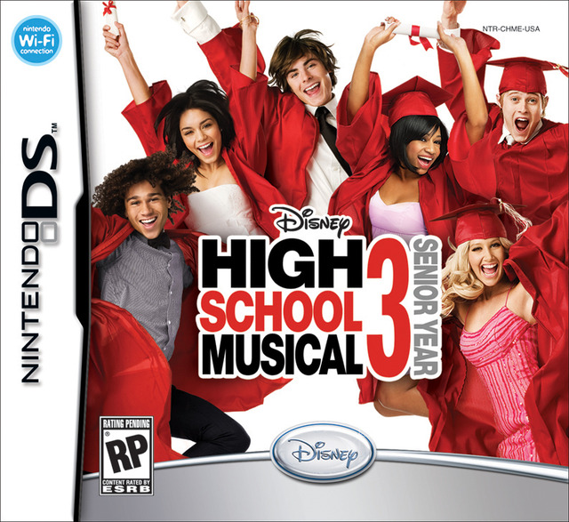 Caratula de High School Musical 3: Senior Year para Nintendo DS