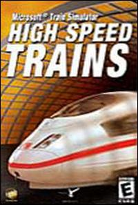 Caratula de High Speed Trains para PC