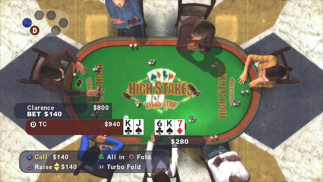 Pantallazo de High Stakes On The Vegas Strip : Poker Edition (PS3 Descargas) para PlayStation 3