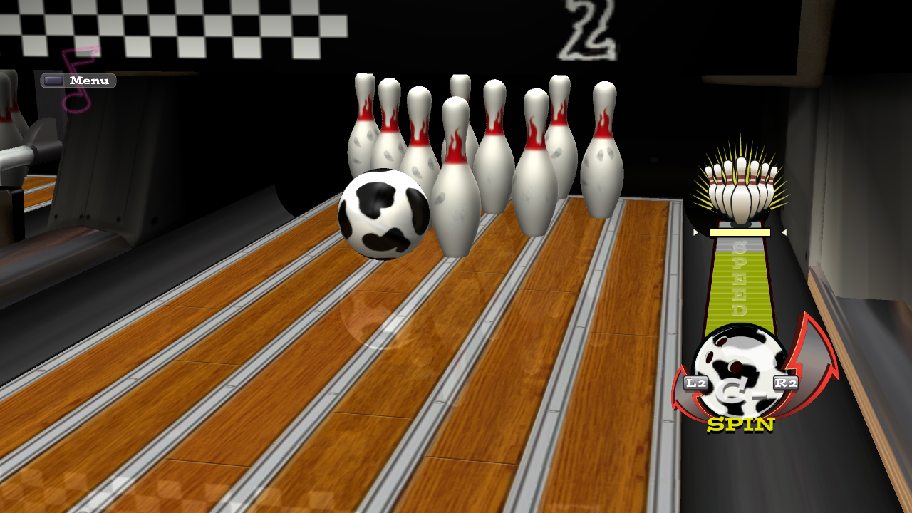 Pantallazo de High Velocity Bowling (PS3 Descargas) para PlayStation 3