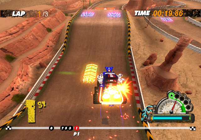 Pantallazo de High Voltage Hot Rod Show (Wii Ware) para Wii