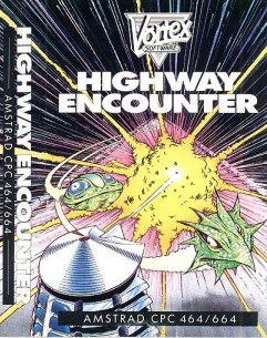 Caratula de Highway Encounter para Amstrad CPC