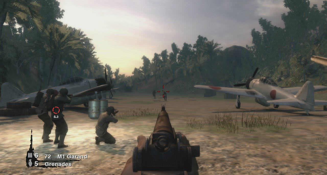 Pantallazo de History Channel: Battle for the Pacific para PlayStation 3