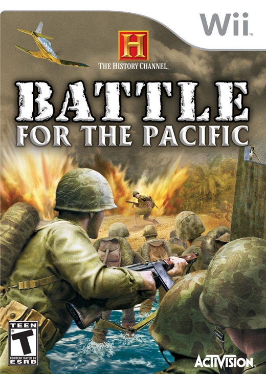 Caratula de History Channel: Battle for the Pacific para Wii