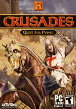 Caratula de History Channel: Crusades: Quest for Power, The para PC