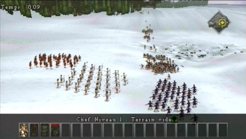 Pantallazo de History Channel: Great Battles of Rome para PSP