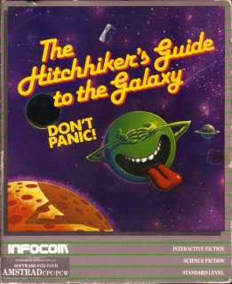 Caratula de Hitchhiker's Guide To The Galaxy, The para Amstrad CPC