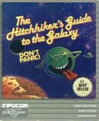Caratula de Hitchhiker's Guide to the Galaxy, The para Atari ST