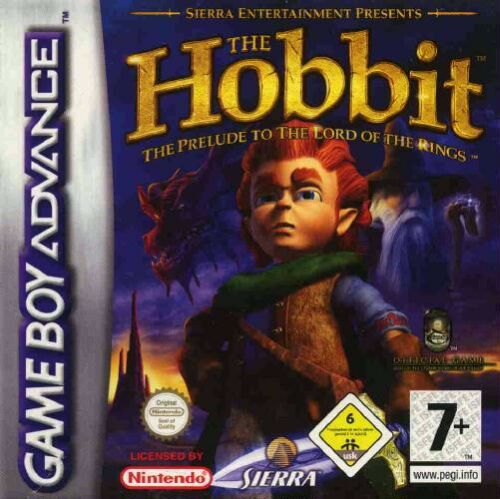 Caratula de Hobbit, The para Game Boy Advance