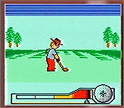 Pantallazo de Hole in One Golf para Game Boy Color