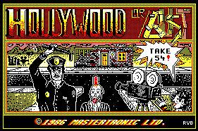 Pantallazo de Hollywood Or Bust para Amstrad CPC